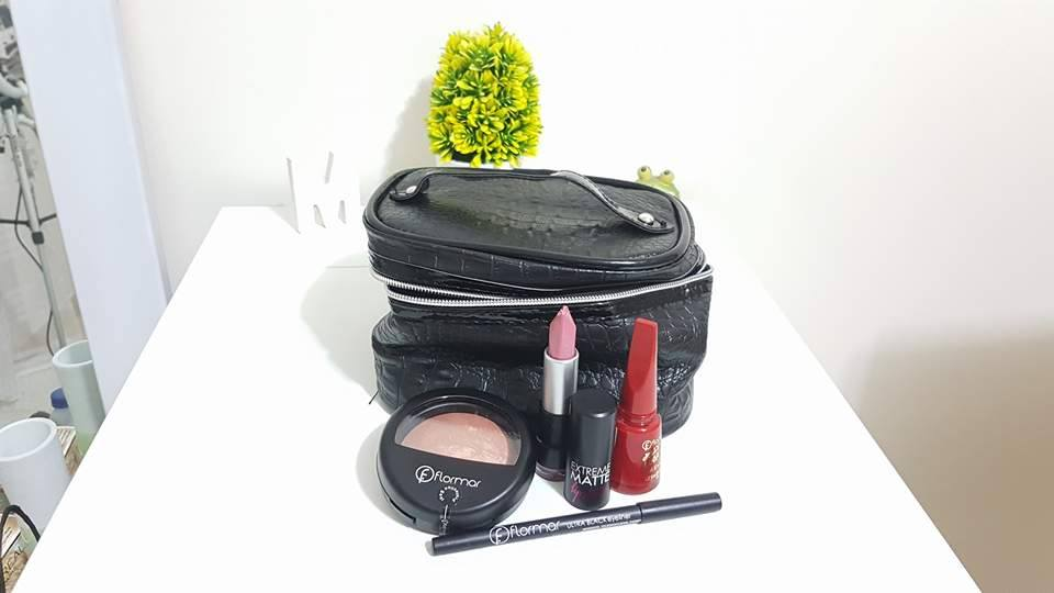 Expocosmetica - Exopor - Porto - Flomar - Kit - Emilly Evelyn