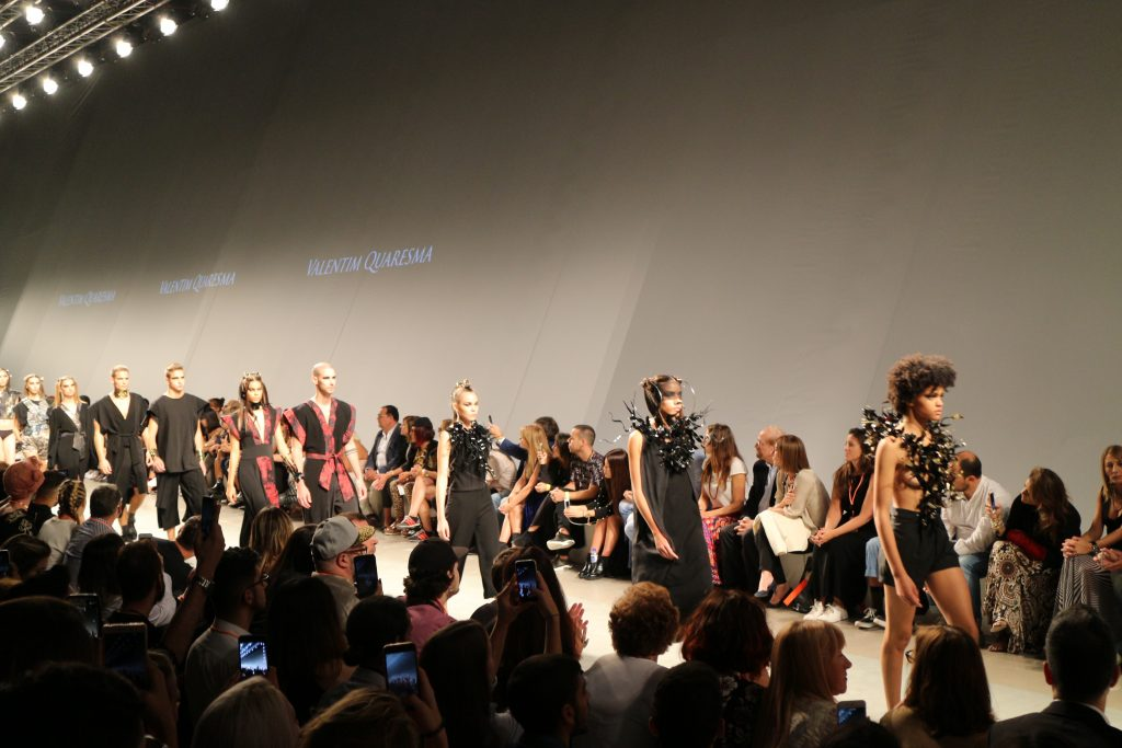 Desfile Models - Valentim Quaresma - Moda Lisboa - Lisboa Fashion Week - Emilly Evelyn