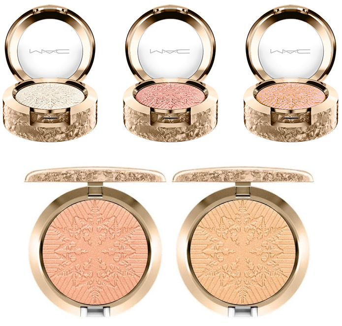 Mac Cosmetics - Snowball Holiday - Sombras - Iluminadores - Emilly Evelyn