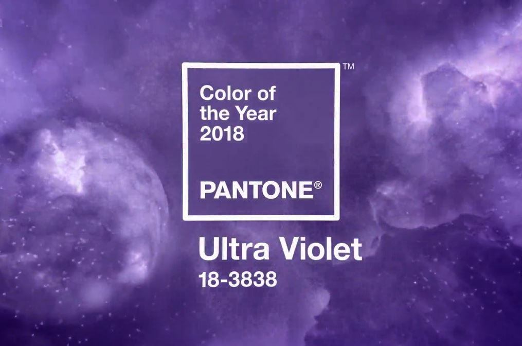 Cor do ano 2018 - Pantone - Ultra Violet - Emilly Evelyn