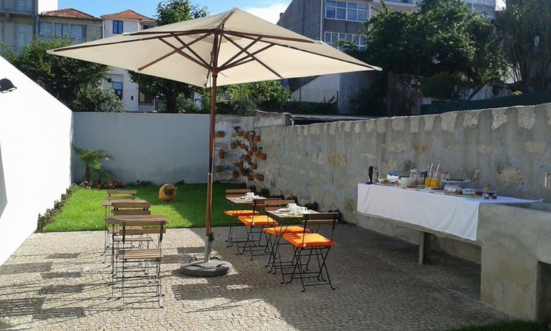 QG Bloggers em portugal Porto - Hotel Charming House - Area Externa - Emilly Evelyn