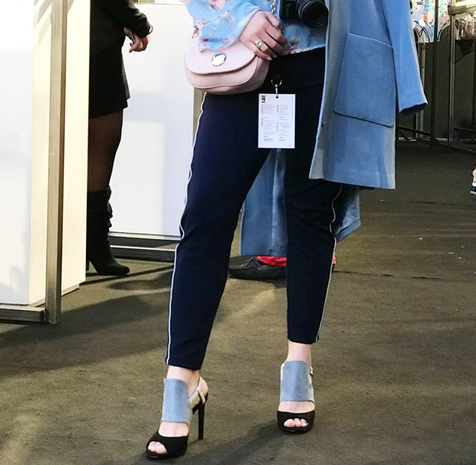 Looks Portugal Fashion 2018 - Look Azul - Bolsa e Sandália Zara - Emilly Evelyn