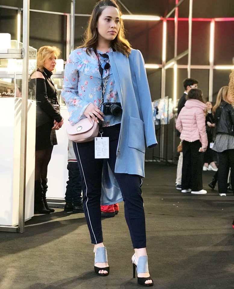 Looks Portugal Fashion 2018 - Look Azul - Emilly Evelyn