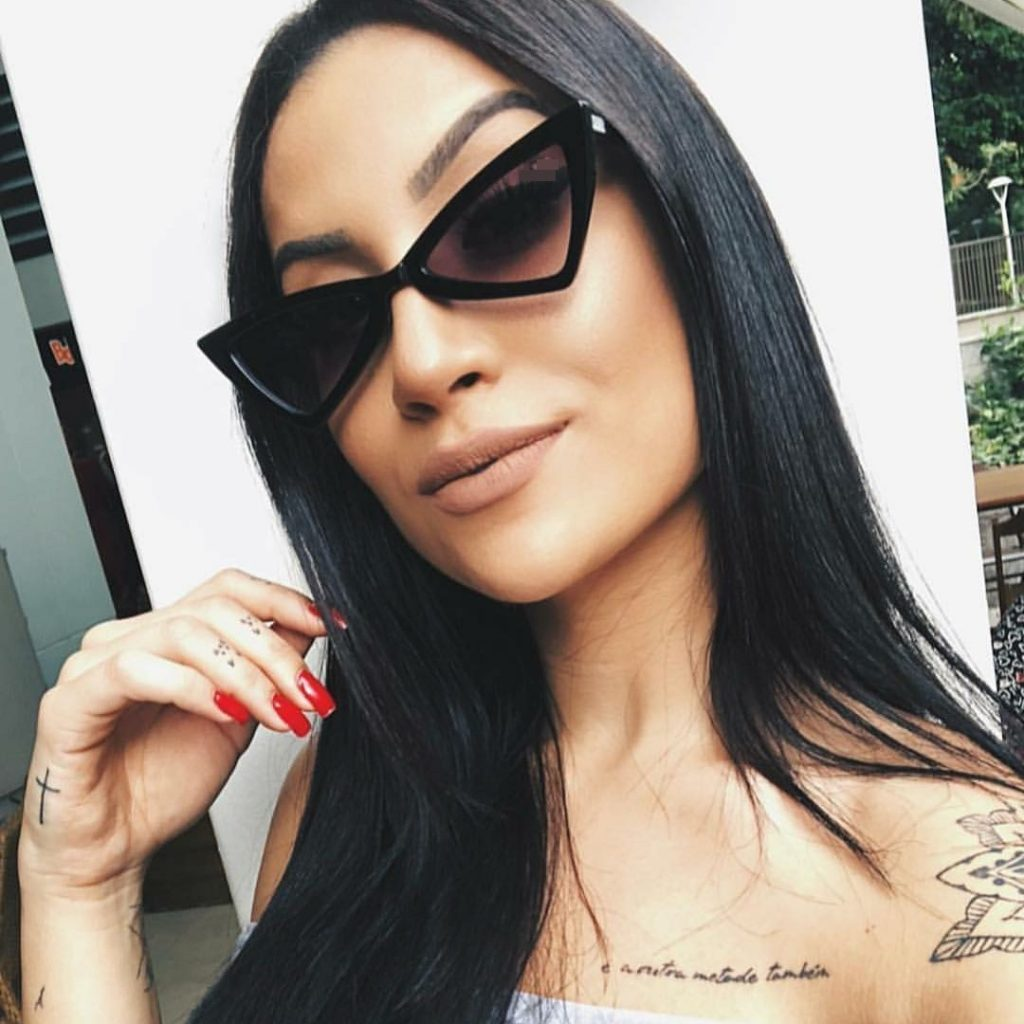 Tendência Cat Eye Fashion - Oculos Gatinho - Bianca Andrade - Emilly Evelyn